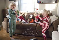 360/366 (grilljam) Tags: christmasday presents winter december2016 seamus 4yrs ewan 7yrs stockings littletreasures 366days