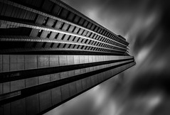 """ > "" (tmuriel67) Tags: lines lineas sombras architecture abstract arquitectura shadows lightshadows building longexposure ndfilters futuristic urban urbanscape fineart skyscraper dramatic dark modern bw monochrome"