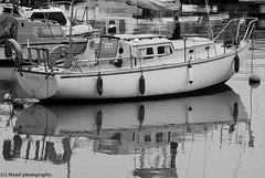 Boat reflecting in the harbour at Bridlington. ((c) MAMF photography..) Tags: art boat boats harbour sea seaside bridlington britain blackandwhite blackwhite bw biancoenero beauty beautiful blancoynegro blanco blancoenero coast d7100 england enblancoynegro eastyorkshire eastcoast flickrcom flickr google googleimages gb greatbritain greatphoto inbiancoenero image mamfphotography mamf monochrome nikon noiretblanc noir north nikond7100 negro northernengland old photography photo pretoebranco uk unitedkingdom upnorth yorkshire zwartenwit zwartwit zwart