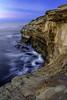 A Taste of the Elements (MarcLorence) Tags: landscapephotography landscape photography ocean sea shore dslr exposureblending vertical sunset rocks cliff