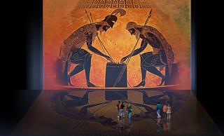 Petteia - Ludus Latrunculorum  Iconografía de las civilizaciones helenolatinas