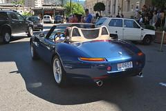 BMW Z8 (D's Carspotting) Tags: bmw z8 monaco blue 20130731 0658
