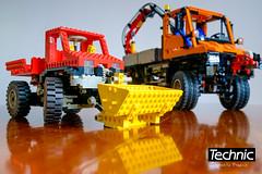 LEGO Technic 8848 vs LEGO Technic 8110