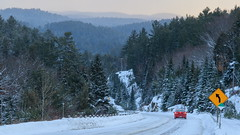 Never The Same Twice (Bert CR) Tags: algonquinpark algonquinprovincialpark ontarioparks snow winter highway60 ontarioprovincialpark redmazda color morningsun sunrise earlymorning wintermorning snowymorning highwaysign rollinghills neverthesametwice neverthesame