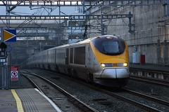 373232 Stratford International 17.01.17 (jonf45 - 2.5 million views-Thank you) Tags: railways br british rail train london emu electric multiple unit eurostar class stratford international 373 3232 373232
