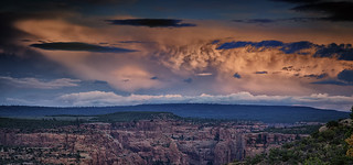 Thunderstorm over The Defiance Plateau and Canyon de Chelly
