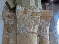 Calverton Nottinghamshire (jmc4 - Church Explorer) Tags: calverton church nottinghamshire carving piller pillar column