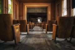 Dernière séance (Photonirik) Tags: urbex abandoned theather decay urban exploration ue