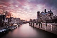 Notre Dame de Paris (photoserge.com) Tags: notredame paris clouds magenta view long exposure architecture