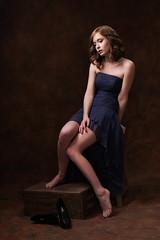 Laura208 (allen ramlow) Tags: studio model laura redhead pretty beauty girl woman offcamera flash sony a6500