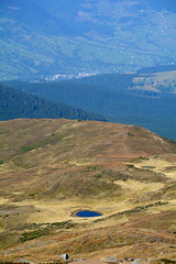 small lake on the slopes of Mount Petros (intui.pro) Tags: magenta mountain house shelter logs shepherds firs forest panorama reserve pasture carpathians ukraine outdoor plant tree conifer green greens foot foothill camp tourism nature national