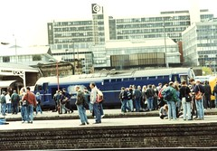 """Just for fun :) ay Simon.J i bet this is what York looks like minus the """"Tripods when the test trains come in and stop! lol (37686) Tags: just for fun ay sjp bet this is what york looks like minus tripods when test trains come stop lol somewhereinthereis37372lolaveryveggedupsheffieldstationonthedateofthelastti tinsley open day"""