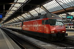SBB - Re 460 092-0 (Szászgáspár Szabolcs) Tags: sbb re 460 zürich hb switzerland swiss zug trains tren vonat svájc mozdony elvetia