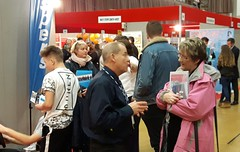 Parents finding out about careers with Vospers in the South West