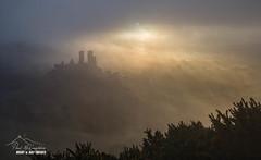 Corfe Castle  - In the Mists of Time (macdad1948) Tags: mist dorset sunrise corfecastle englishheritage wareham fog landscape dawn