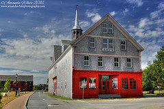 Cox's, Shelburne (sminky_pinky100 (In and Out)) Tags: southshore novascotia scenic pretty shelburne colouful red building set movies travel touriem omot cansa