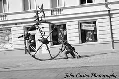 IMG_2421 (@XIII) Tags: blackandwhite bw art apple streetphotography polska bn pinocchio tale polonia biancoenero pinokio bialystok fiaba iphone6