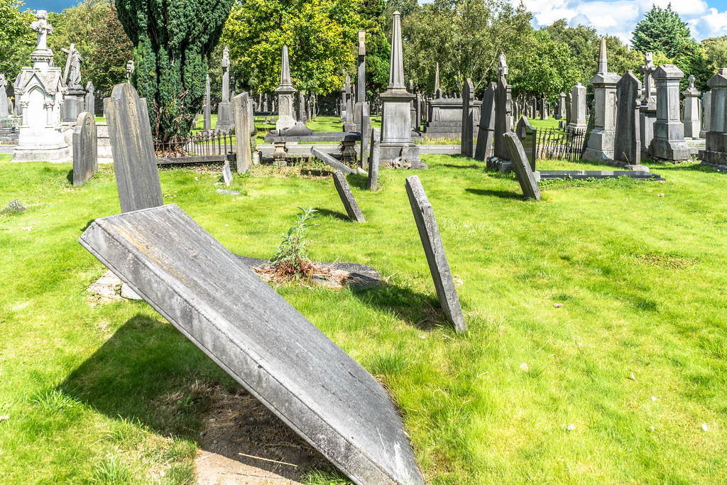 GLASNEVIN CEMETERY [MY FIRST DAY USING THE NEW SONY A7RMkII] REF-107419