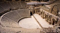 Amphitheatre city of Gerasa, Jerash, Jordan