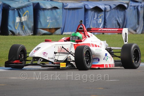 Lanan Racing's Jack Bartholomew in BRDC F4 at Donington Park, September 2015