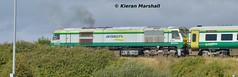 232 outside Portlaoise, 21/8/15 (hurricanemk1c) Tags: irish train gm rail railway trains railways irishrail 201 232 generalmotors portlaoise 2015 emd iarnród éireann iarnródéireann 0920corkheuston
