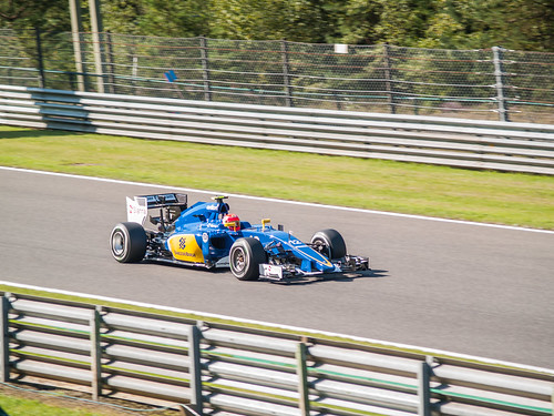 Belgian GP - Sauber - Felipe Nasr