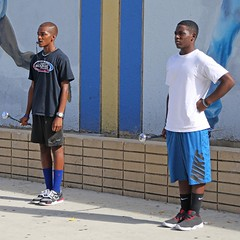 D132374S (RobHelfman) Tags: losangeles band highschool crenshaw drummajor