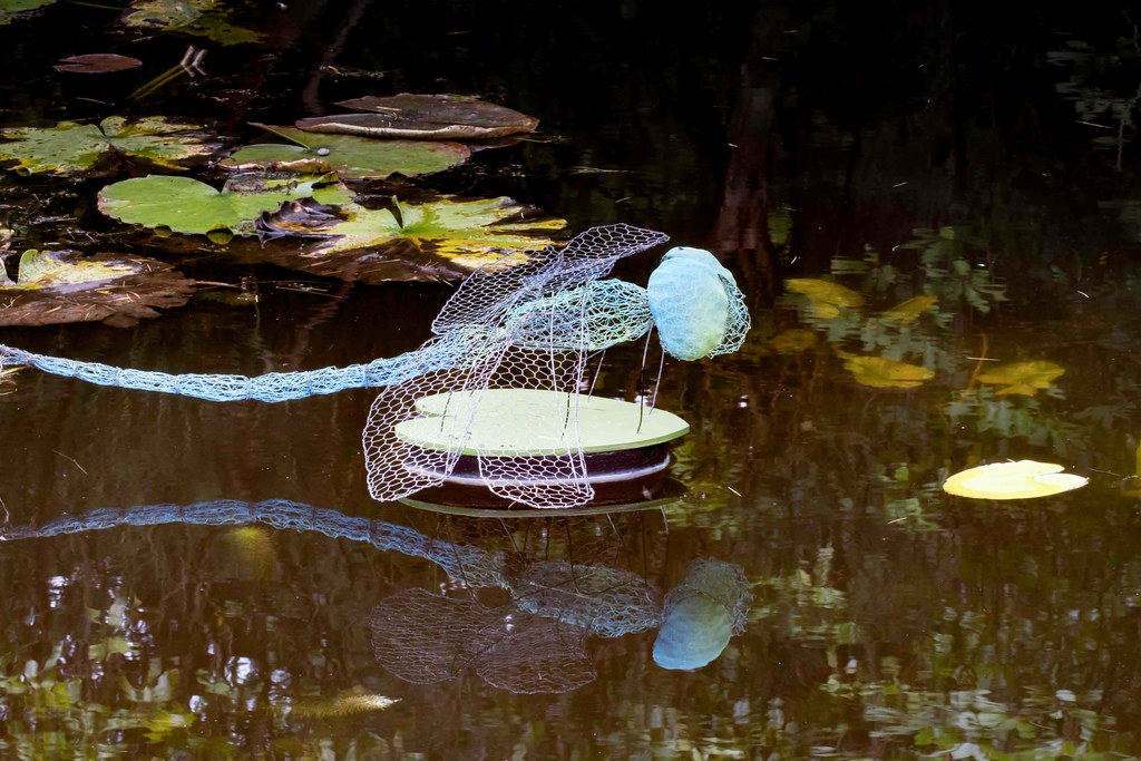 DRAGONFLY BY ANNE McGILL [SCULPTURE IN CONTEXT 2015]REF--10805358