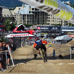 The #CanadianOpenDH track never disappoints... (Harry Head) Tags: bike whistler racing dh mtb pnw crankworx gatorade tbt canadacup inthezone maxxis tld whistlerbikepark headracing maxxistires troyleedesigns obsessionbikes ryderseyewear odigrips canadianopendh spankbikes winfromwithin uploaded:by=flickstagram atlasbrace igersmtb gamutusa tldbike finelinesigns limenine tldcanada instagram:photo=10561926288184639751391066810