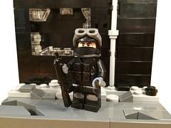 Black Ops Soldier (Dyroth) Tags: black lego military ops blackops urbancombat moderncombat customlego brickarms