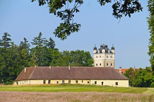 Greillenstein. Meierhof. Schafstall, 1700