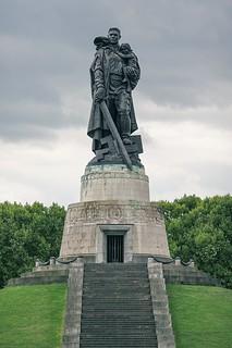 Sowjetisches Ehrenmal im Treptower Park