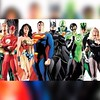 "Just look at this. Is there anything better than an #AlexRoss painting of the #justiceleague? I don't think so. 🎧🎧🎧🎧🎧🎧🎧🎧 Geek out to Those Geeks You Know _____________ • <a style=""font-size:0.8em;"" href=""http://www.flickr.com/photos/130490382@N06/21698364159/"" target=""_blank"">View on Flickr</a>"