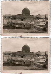 Al-Aqsa Mosque over 1900 aprox