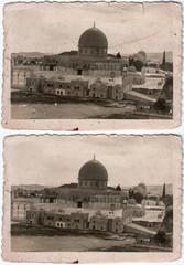 Al-Aqsa Mosque over 1900 aprox