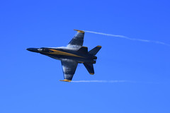 Fleet Week 2015 - 35 (fksr) Tags: sanfrancisco airplane airshow condensation sanfranciscobay f18 blueangels vaportrail fleetweek2015