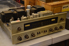 """THE FISHER 800-C TUBE STEREO RECEIVER. • <a style=""""font-size:0.8em;"""" href=""""http://www.flickr.com/photos/51721355@N02/22030155062/"""" target=""""_blank"""">View on Flickr</a>"""