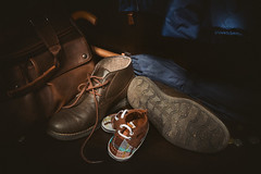 DSCF3356-Boots (alubavin) Tags: light stilllife brown parenthood kid dad child boots father parent fujifilm browncolor lightbrush fujifilmxe2