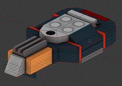 Kushan Light Corvette (Sastrei87) Tags: lego meta homeworld brickspace