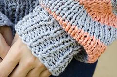 Laguna Sweater (Wasel Wasel Crafts) Tags: sweater knitting handknit cotton laguna wak weareknitters