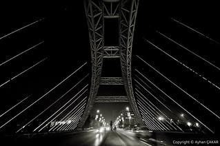 Midnight Esenyurt Bridge