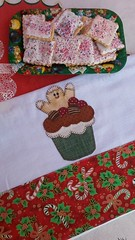 Pano de Prato (Criao Exclusiva da Ane) Tags: natal patchwork cozinha barrado bolachinhas cuocake panodeprato decoraonatalina