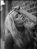 Yearningly II (Jochen Abitz Photography) Tags: portrait bw mamiya film fashion rollei analog hair 645 emotion retro editorial 6x45 400s 8019