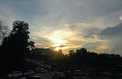 Sun setting down at the Art House (s.hanyna) Tags: sunset house art balikpapan