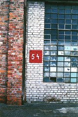 54 (Analog World Thru My Lenses) Tags: factory soho warsaw warszawa rikenon50mmf14 ricohxr7 fujifilmsuperiaxtra400exp