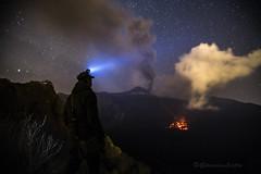 Etna 8 Dicembre 2015 (Giovanni Liotta) Tags: lava cielo etna catania giovanni stelle fumo cenere liotta colata zafferana