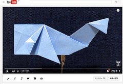 Video Tutorial of Origami Whale (sakusaku858) Tags: origami whale youtube
