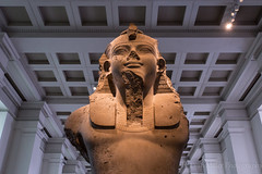 Pharoh (H. Evan Miller) Tags: london statue museum ancient sony egypt egyptian alpha britishmuseum pharoh nex a6000 hevanmiller ilce6000
