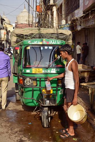 India - Delhi - Streetlife - Auto Rickshaw - 9