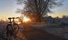 Heart of the Sunrise (Free.heel) Tags: oxford thamestowpath riverthames binsey lynskeyridgeline29er shimanoxtm785disctubeless continentaltrailking sunrise foxsuspension32floatctdkashmina